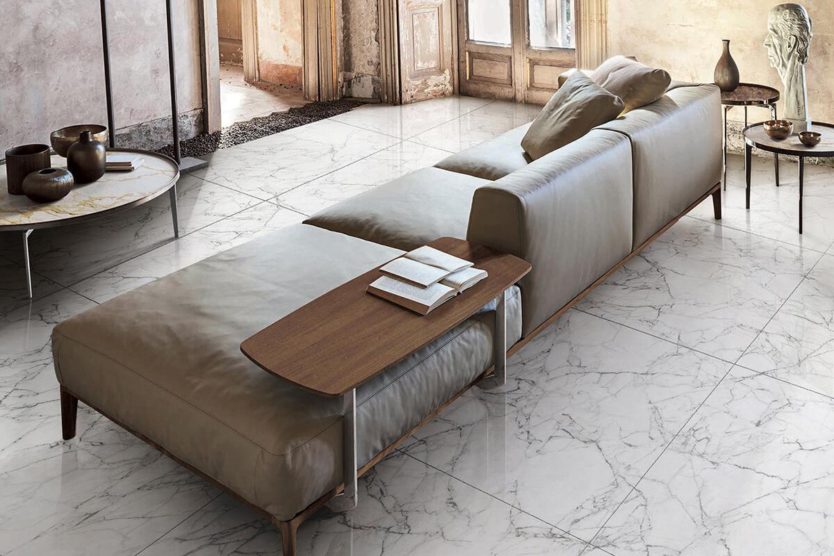 carrelage imitation marbre carrara blanc gani. Black Bedroom Furniture Sets. Home Design Ideas